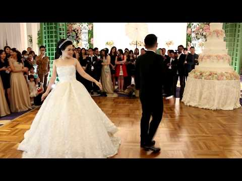 Rest of my Life Wedding Dance | Linardy & Yulia | Raffles Jakarta | IG: @dancefirstindonesia