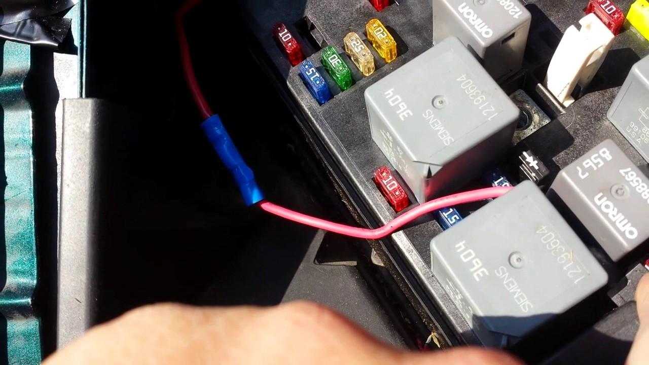 medium resolution of installing a battery isolator in a 1999 chevy venture vanlife