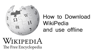 Video How to download wikipedia offline ✔ download MP3, MP4, WEBM, AVI, FLV April 2018
