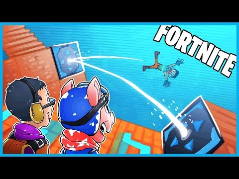 BOUNCING A DEFAULT SKIN Into The STORM In Fortnite: Battle Royale! (Fortnite Funny Moments & Fails)