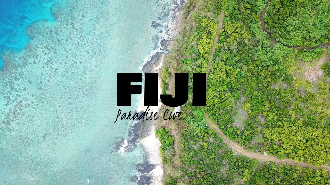 DRONE 4K Paradise Cove Resort│Fiji