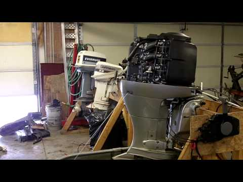 2006 Honda 90 HP 4 stroke Outboard Motor - YouTube