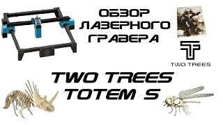Обзор лазерного гравера TwoTrees Totem S 40W (5.5W)