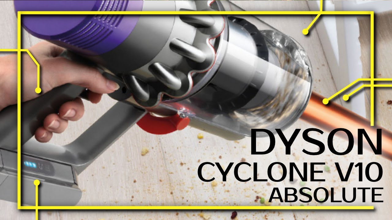 dyson cyclone v10 absolute unboxing erster eindruck und test youtube. Black Bedroom Furniture Sets. Home Design Ideas
