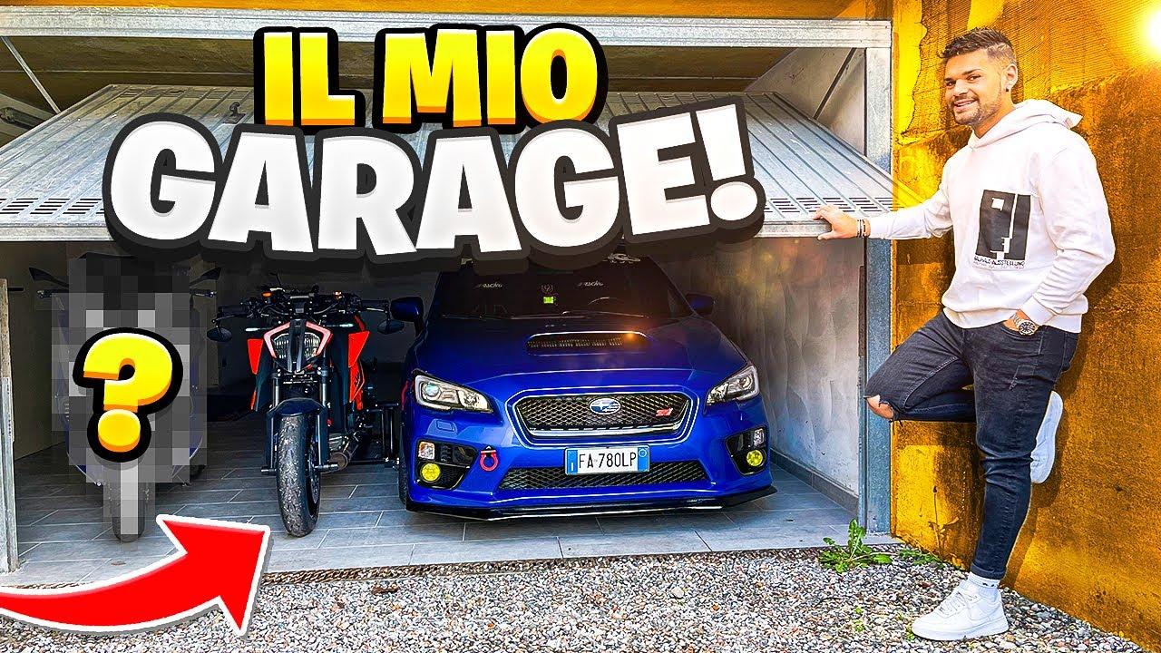 GARAGE TOUR: TUTTI I MIEI MEZZI IN GARAGE 🔥(anche uno segreto)