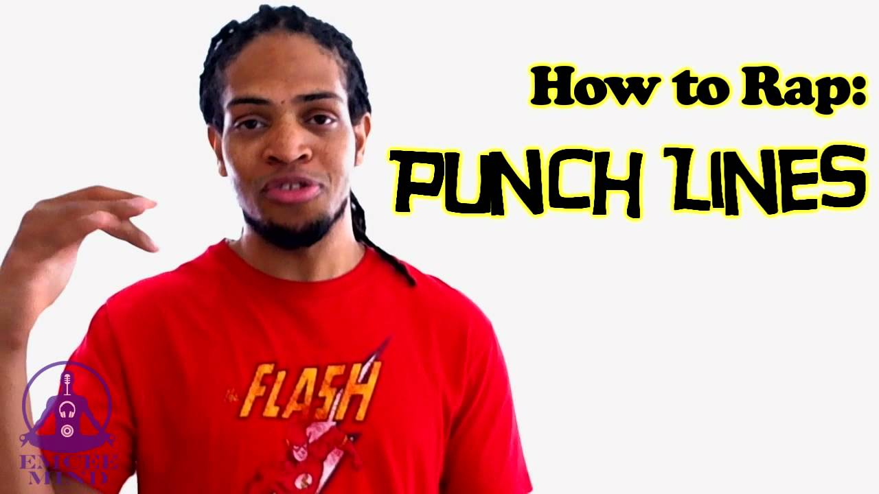 How to Rap: Punchlines-An Emcee Mind How to Rap Tu - YouTube