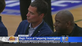 Magic Johnson Reportedly At Center Of NBA Tampering Investigation