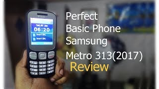 Best Basic Phone -SAMSUNG METRO 313 REVIEW(HINDI)
