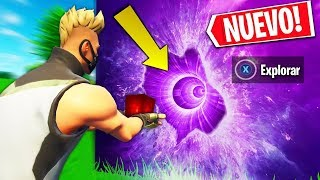 * * NOVA TEMPORADA SECRETA 6 * * O FIM DO CUBO GIGANTE REVELADO! (Battle Royale do Fortnite)