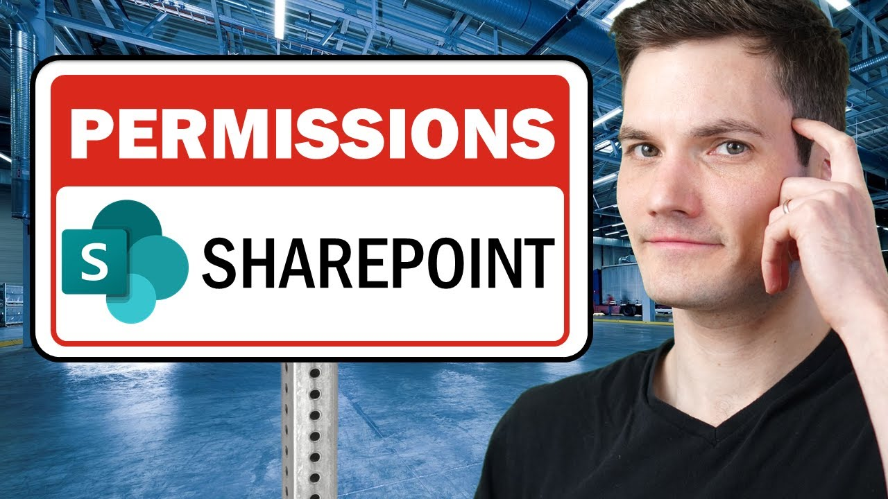 ✅ How to Set SharePoint Permissions - Beginner Tutorial