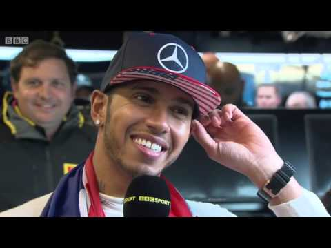 2015 United States - Post-Race: Lewis Hamilton wins 2015 F1 world title: Victory is 'empowering'