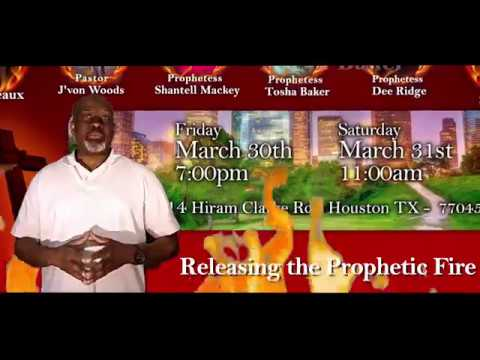 Releasing the Prophetic Fire Conference