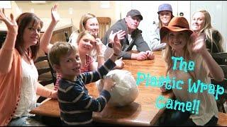 Plastic Wrap Game!! So Fun!!