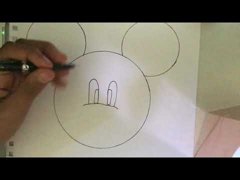 Christian's Video: How To Draw Mickey Mouse