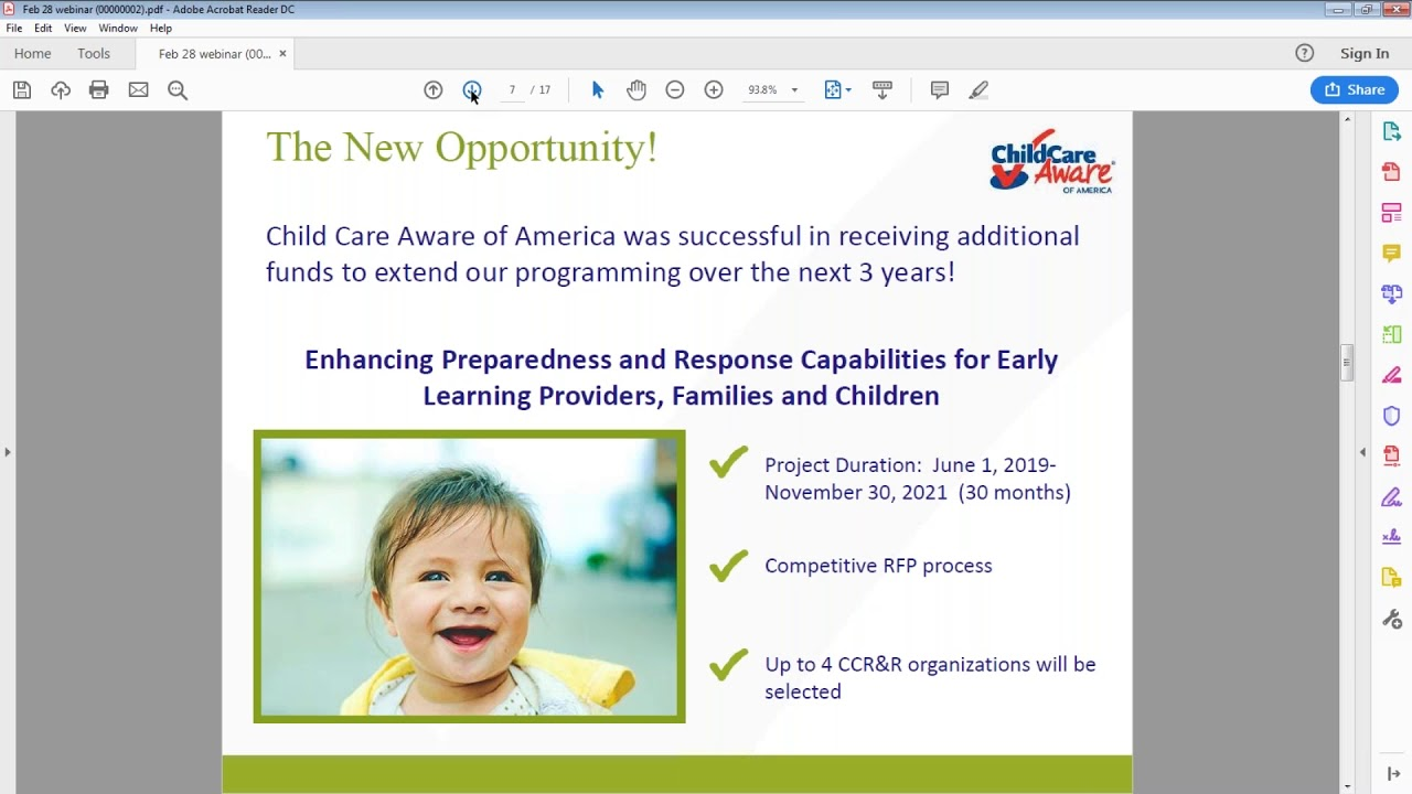 RFP Release Info Session Enhancing Preparedness and Response Capabilities