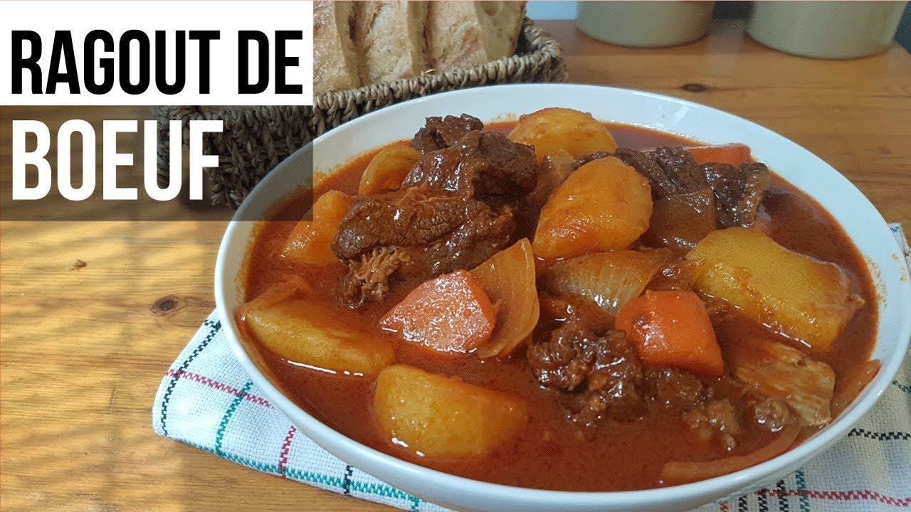 Ragoût de bœuf - รากูเนื้อ เข้มข้นแชบนัวแบบลาว - ຮາກູແຊບໆ (FRA SUB)