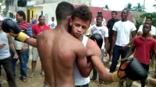 Pelea de  Boxeo en los Alcarrizos 6