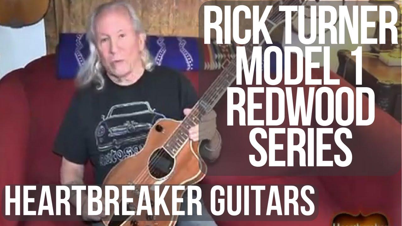 rick turner model 1 redwood series limited on sale heartbreaker guitars youtube. Black Bedroom Furniture Sets. Home Design Ideas