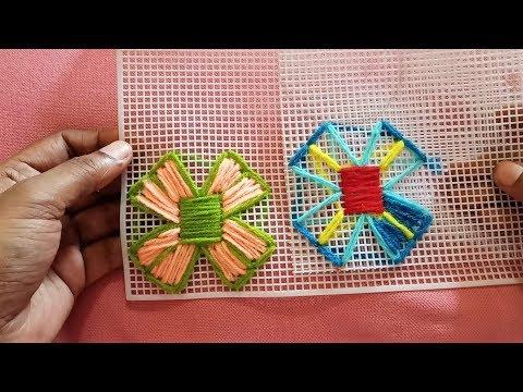 Plastic Canvas Stitch || Design 93 || By LET'S MAKE IT ?