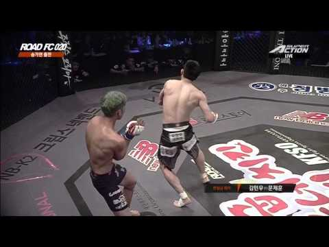 ROAD FC 020 3rd Match JEA-HOON MOON(문제훈) VS MIN-WOO KIM(김민우)
