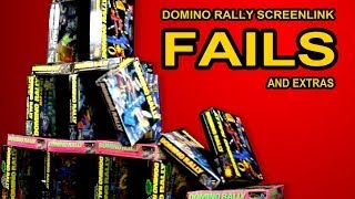 Fails and Extras - Spectacular Domino Rally Stunt Screenlink