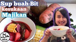 Sup buah Bit kesukaan Majikan tanpa babi ( halal ) || Resep masakan TKW Hongkong