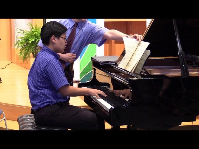 J.Brahms, Intermezzo Op. 117 No.2