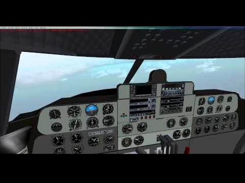 FSX - Buffalo Airways French Polynesia Tour - C-46 Commando - Leg 11