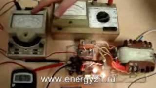 видео Генератор реактивной мощности схема
