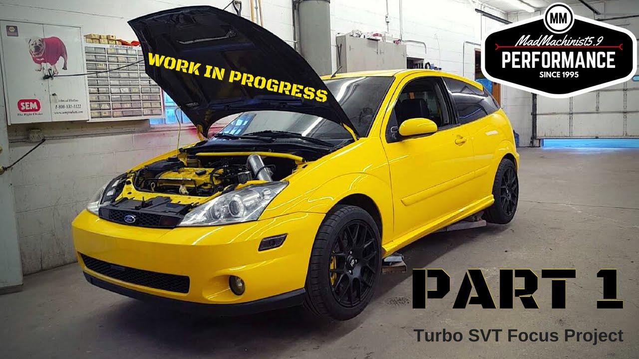 2004 ford focus svt turbo