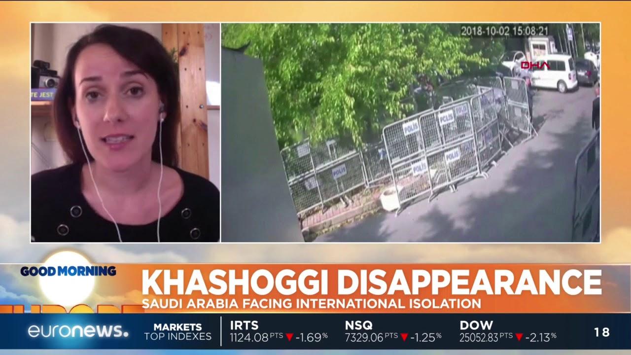 #GME   Khashoggi Disappearance: Saudi Arabia facing international isolation