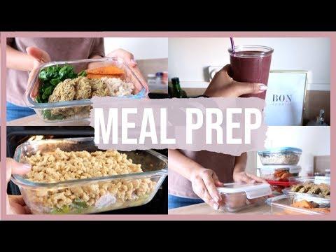 HEALTHY MEAL PREP   Préparation Des Repas De La Semaine
