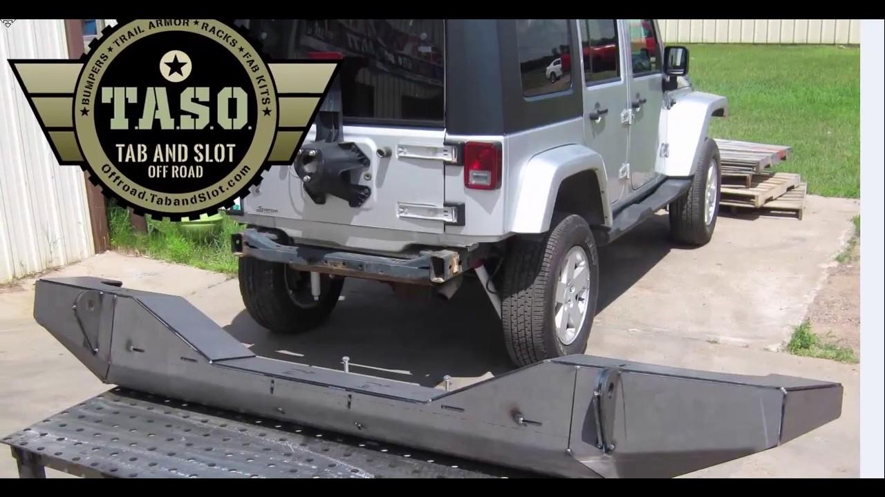 Jeep jk rear bumper diy kit taso bmp jk 900 u youtube jeep jk rear bumper diy kit taso bmp jk 900 u solutioingenieria Choice Image