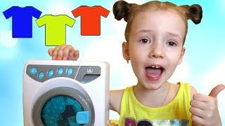 Learn Colors with Color T-SHIRT Educational video by UT kids