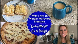 What I Ate On Weight Watchers Freestyle with Smart Points | Losing Weight On A Budget