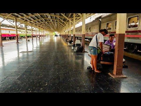 Bangkok to Chiang Mai : 13 hour Overnight Sleeper Train : SE Asia Travel Vlog #13