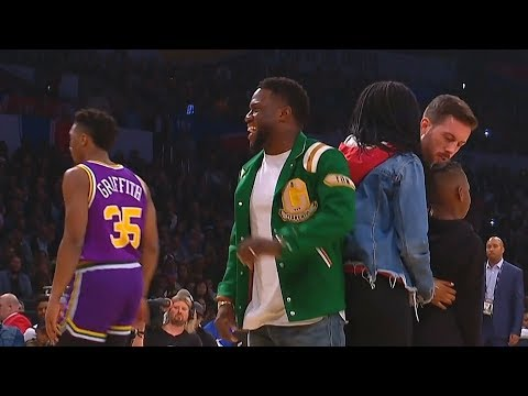 Kevin Hart Helps Donovan Mitchell with His Dunk in the 2018 NBA Dunk Contest!