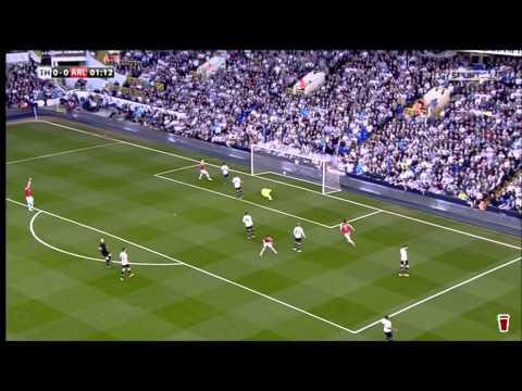 Rosicky v Tottenham 0-1 Arsenal 2014