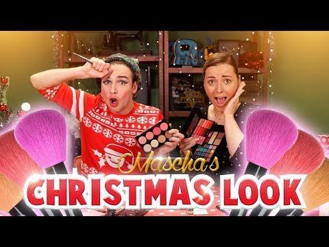 MASCHA'S CHRISTMAS LOOK! - Met Mascha