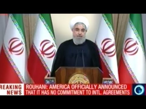 Iranian President Rouhani's FULL Response To President Trump Quiting The Iran Nuclear Agreement