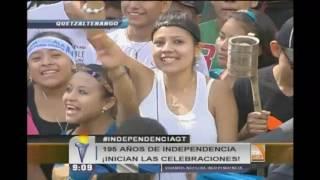 Quetzaltenango celebra los 195 años de independencia