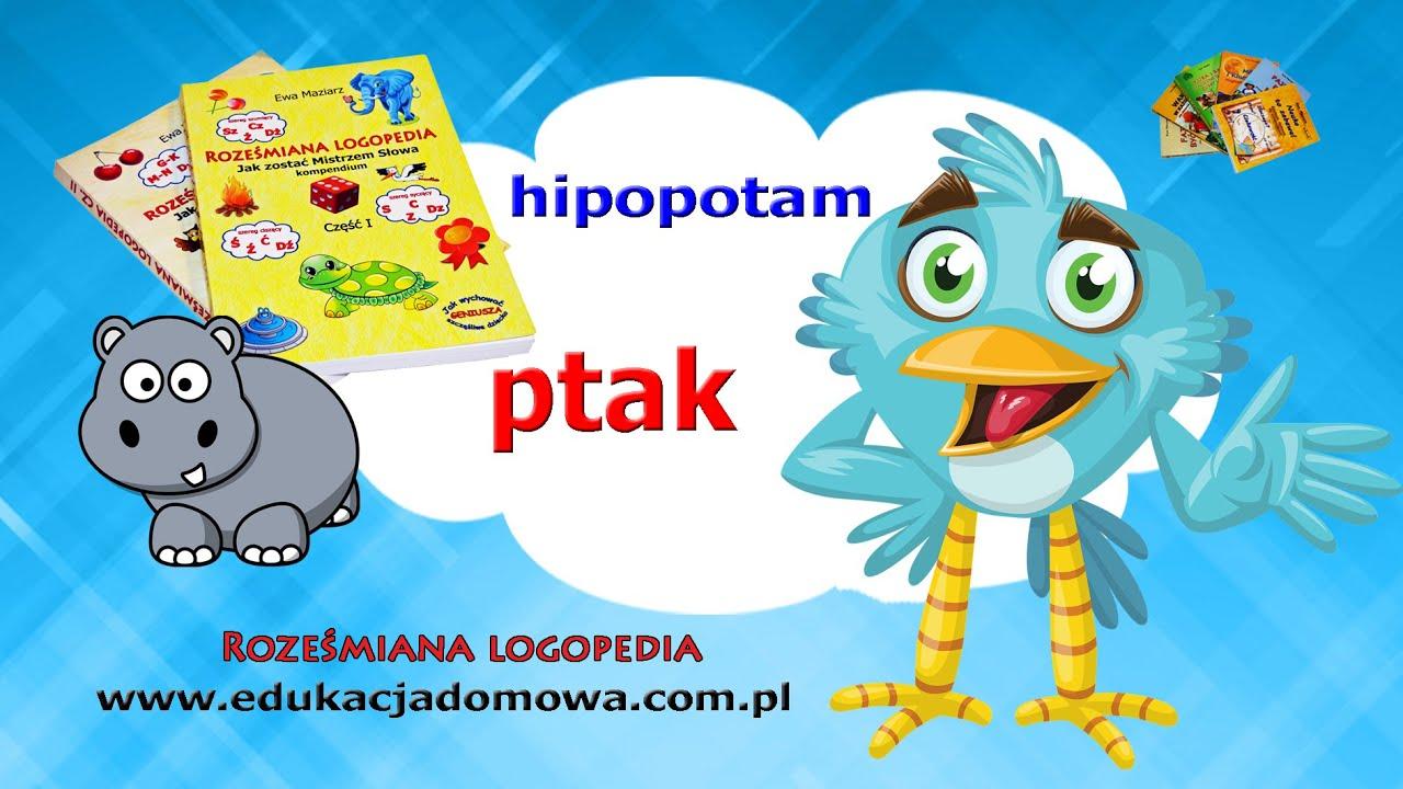 Hipopotam Jan Brzechwa Roześmiana Logopedia Poleca Wiersze Polskich Poetów