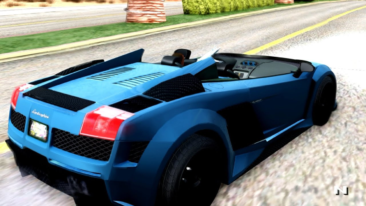 Lamborghini Gallardo J Style Gta San Andreas Youtube