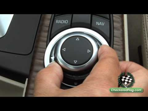 overview of bmw idrive features menu from checkered flag. Black Bedroom Furniture Sets. Home Design Ideas