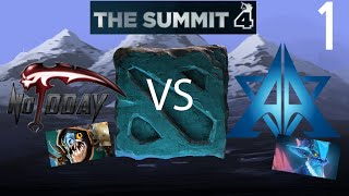 Not Today vs Archon - Game 1 - Summit 4 Americas - Lyrical & Winter