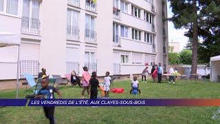 Yvelines   Les «Vendredis de l'été» aux Clayes-Sous-Bois : des animations pour les quartiers