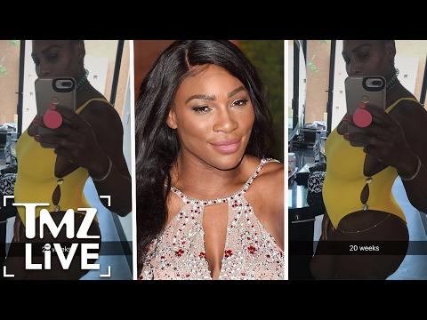 Serena Williams Is PREGNANT I TMZ LIVE