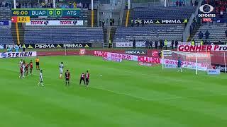 Lobos BUAP vs Atlas 0-0, J-4, Apertura 2018, Liga MX