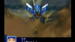 ザブングル・フルパワー 攻擊畫面.