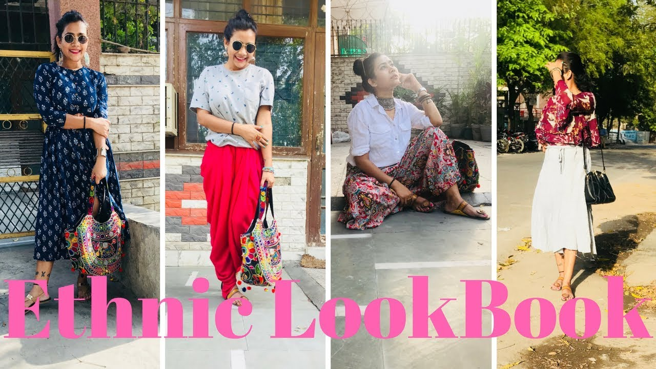 7d8b5b054615 Ethnic Affordable Lookbook  ) - YouTube